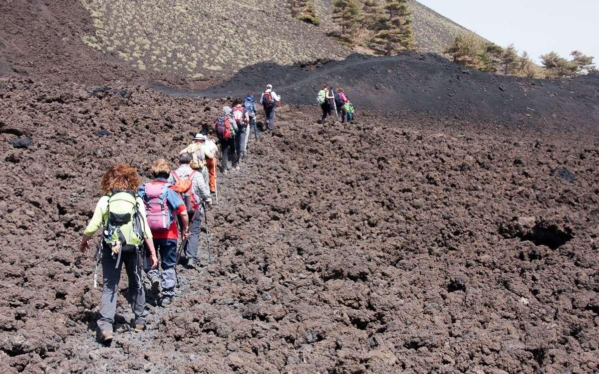 Escursioni guidate sul Vulcano Etna